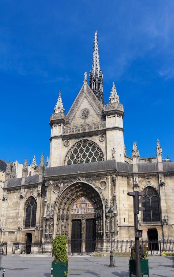 Heilige Laurent Church op boulevard DE Magenta in centraal Parijs, Frankrijk royalty-vrije stock fotografie