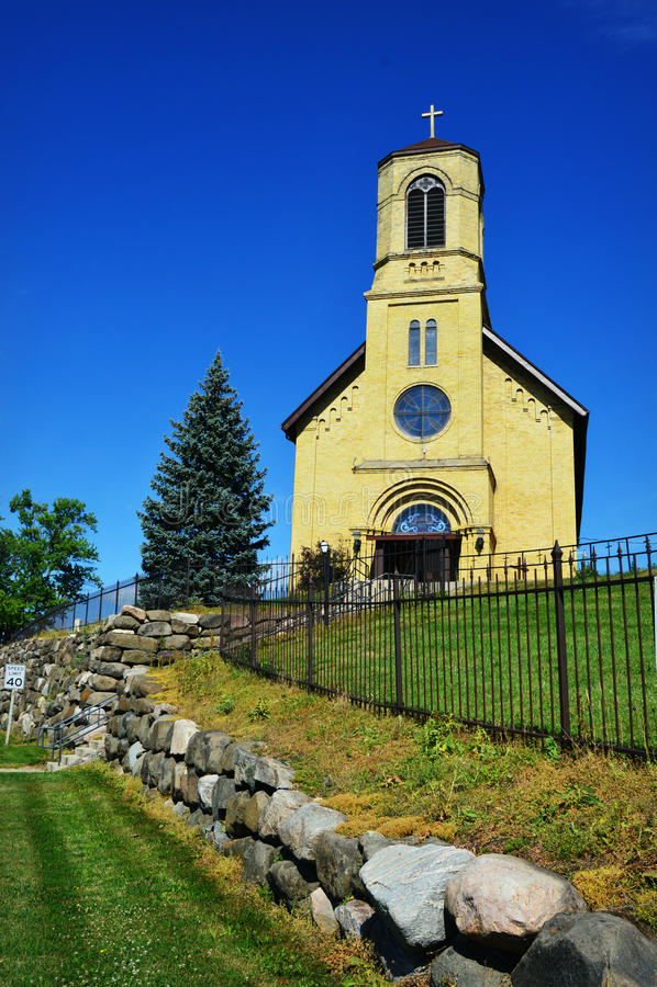 Heilige Lawrence Church royalty-vrije stock afbeelding