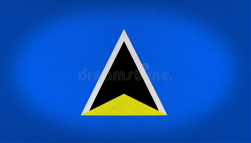 Heilige Lucia Flag vector illustratie