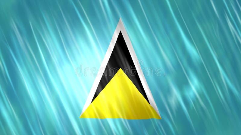 Heilige Lucia-Markierungsfahne vektor abbildung