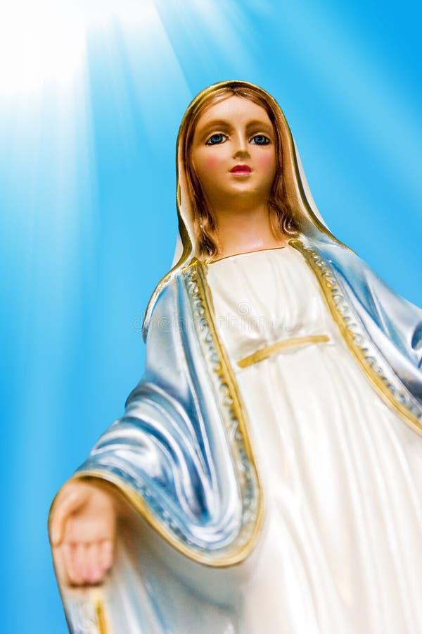 Heilige Maagdelijke Mary stock foto