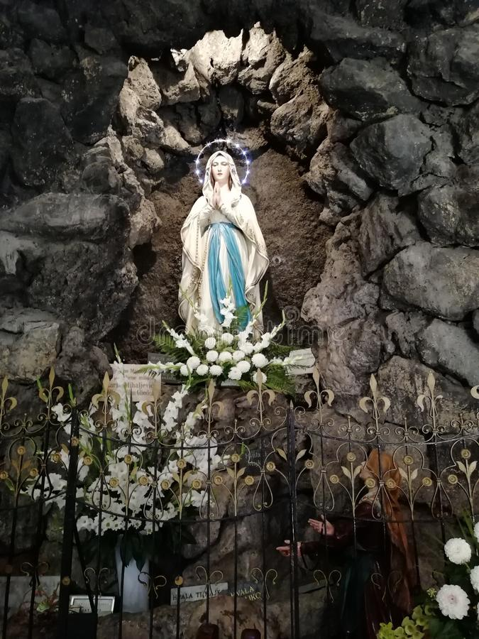 Heilige Maria Kerk zagreb stock afbeeldingen