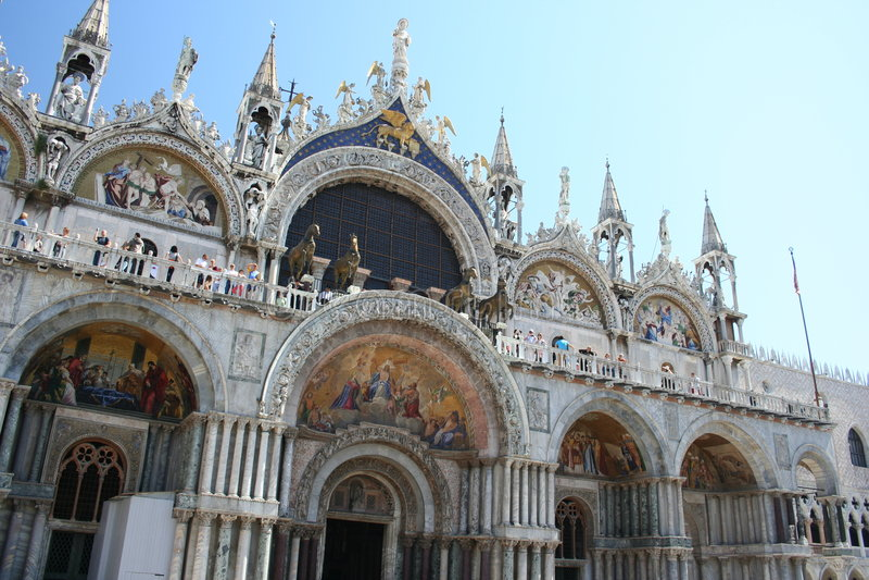Heilige Markierungs-Basilika, Venedig stockfotografie
