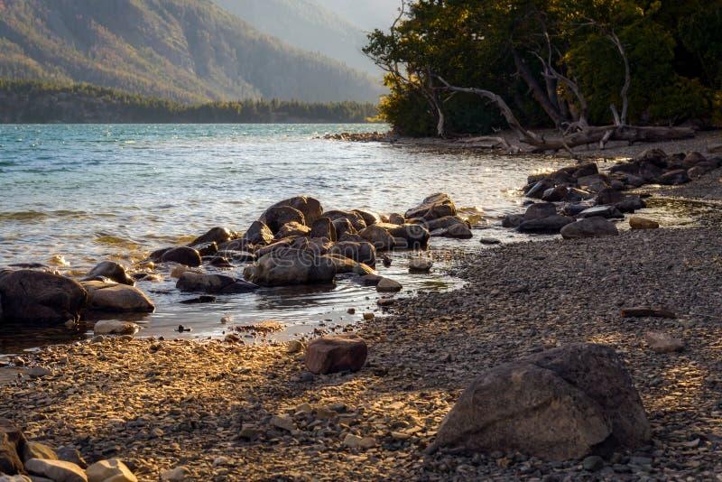 Heilige Mary Lake stock afbeelding