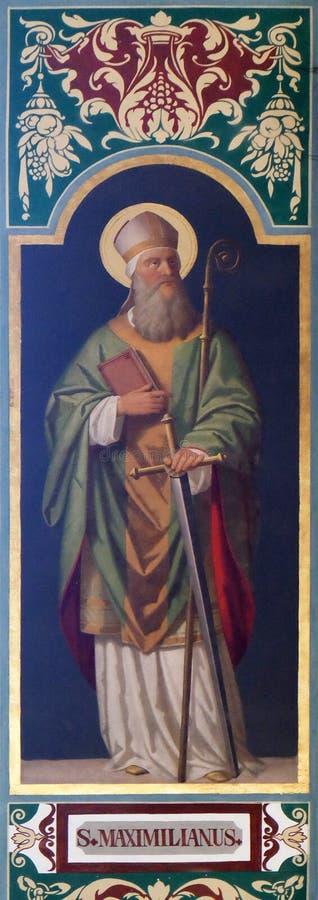 Heilige Maximilian royalty-vrije stock fotografie