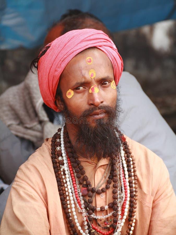 Heilige Mensen van India royalty-vrije stock afbeelding