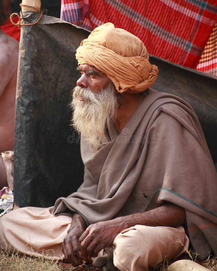 HEILIGE MENSEN VAN INDIA stock foto's