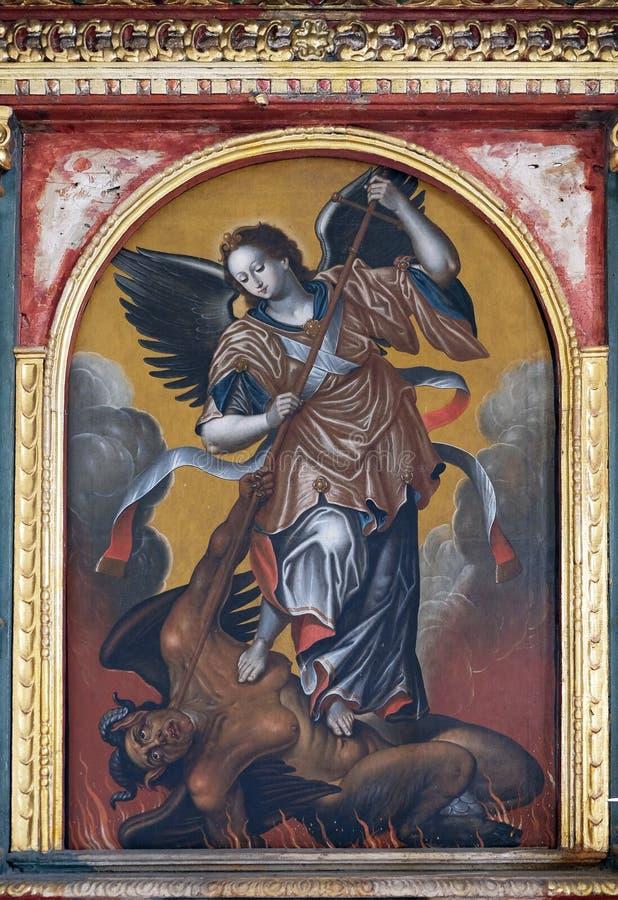Heilige Michael stock fotografie