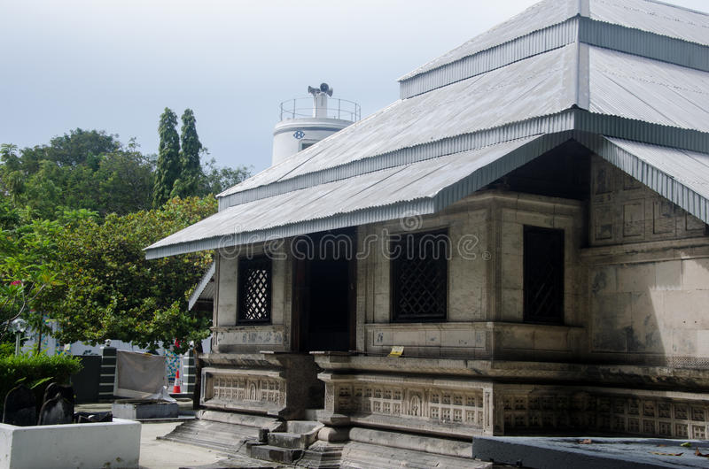 Heilige Moschee lizenzfreies stockbild