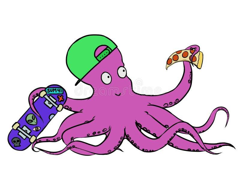 Heilige Octopus royalty-vrije stock foto's