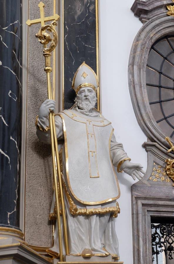 Heilige Otto von Bamberg stock afbeelding