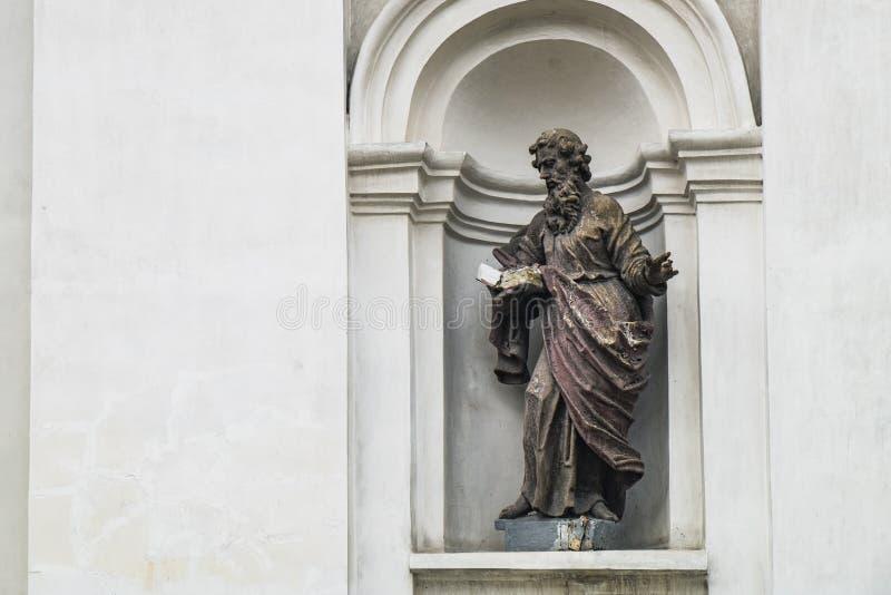 Heilige Peter en Paul Cathedral in Lutsk, de Oekra?ne royalty-vrije stock foto
