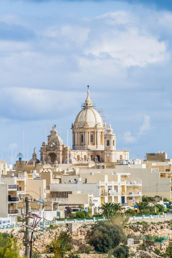 Heilige Peter en Sant Paul in Nadur, Malta stock fotografie
