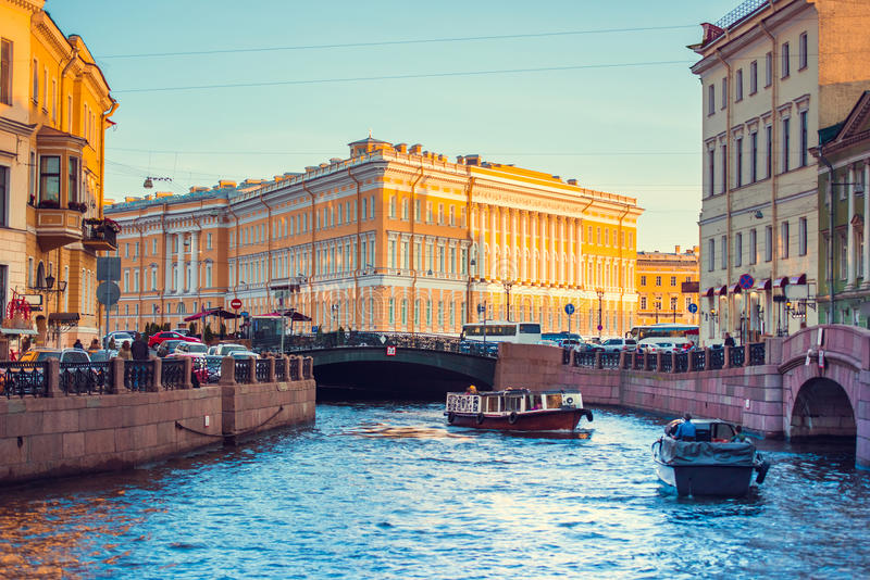 Heilige Petersburg stock foto's