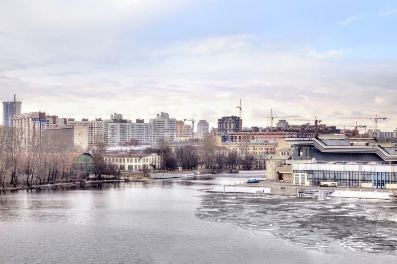 Heilige Petersburg, cityscape royalty-vrije stock foto's