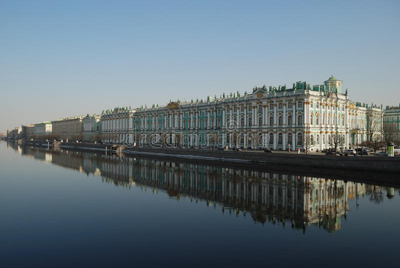 Heilige-Petersburg. Het Paleis van de winter royalty-vrije stock fotografie