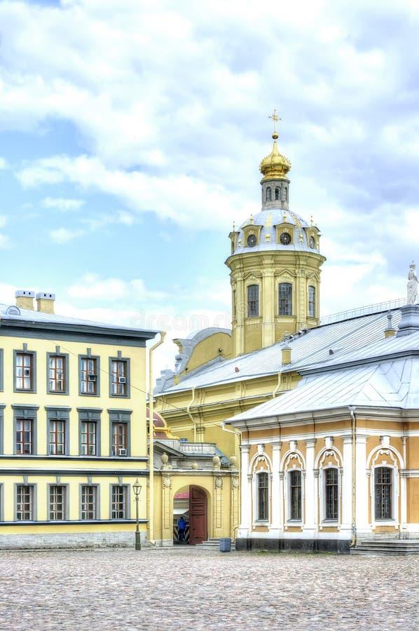 Heilige Petersburg Peter en van Paul kathedraal royalty-vrije stock afbeelding