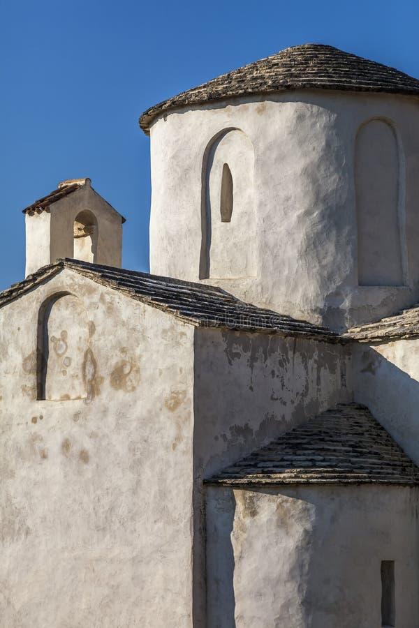 Heilige Querkirche in Nin, Kroatien lizenzfreies stockbild