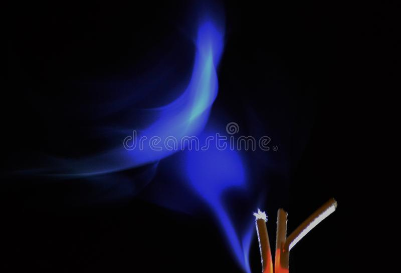 Heilige rook stock foto's