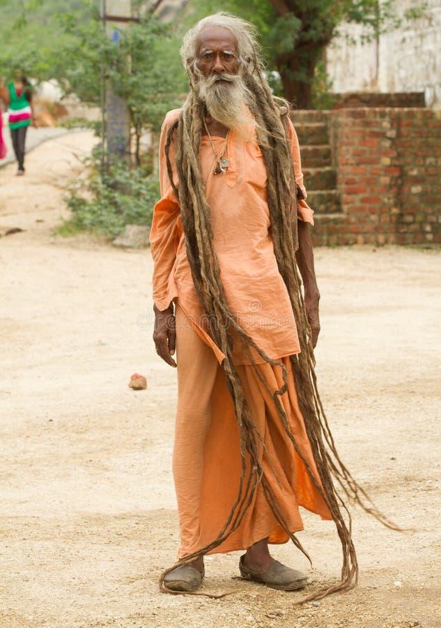 Heilige Sadhu stock afbeelding