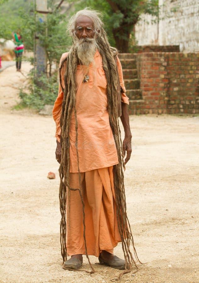 Heilige Sadhu stock fotografie
