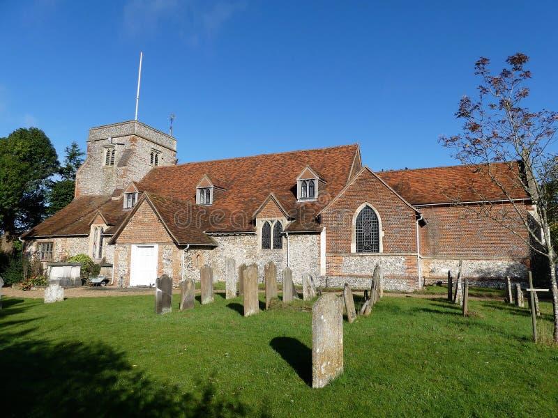 Heilige Triinity-parochie, Church Road, Penn, Buckinghamshire royalty-vrije stock foto