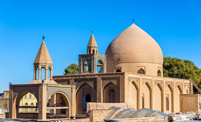 Heilige Verlosserkathedraal (Vank-Kathedraal) in Isphahan stock foto