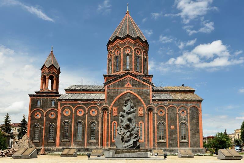 Heilige Verlosserkerk, Gyumri, Armenië stock fotografie