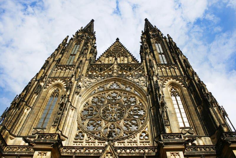 Heilige Vitus Cathedral, Praag, Tsjechische Republiek royalty-vrije stock afbeelding