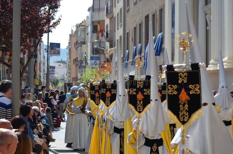 Heilige Week Cofrade stock afbeeldingen