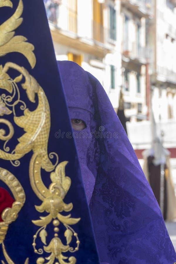 Heilige week in Malaga royalty-vrije stock afbeeldingen