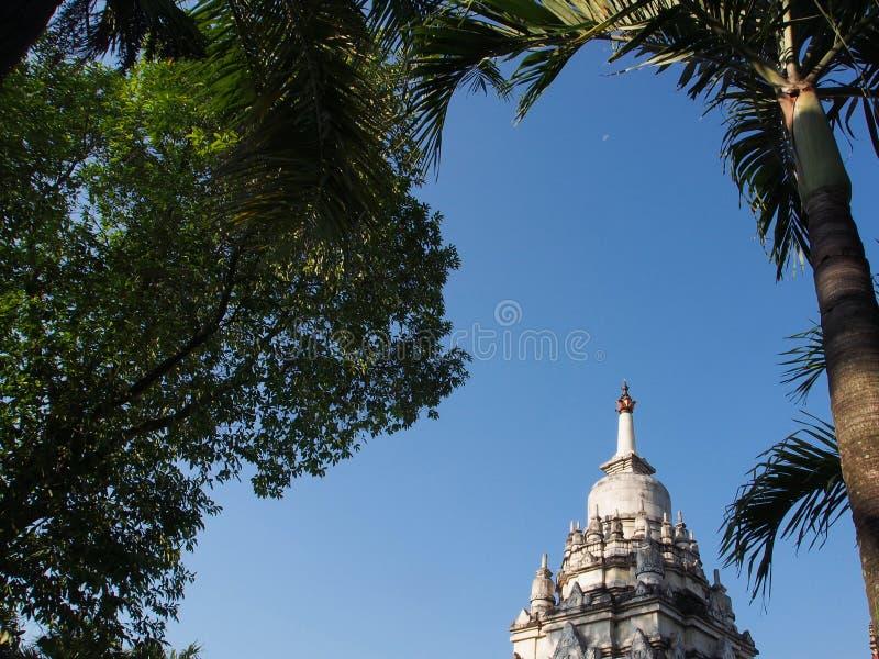 Heilige Witte Tempel stock foto's