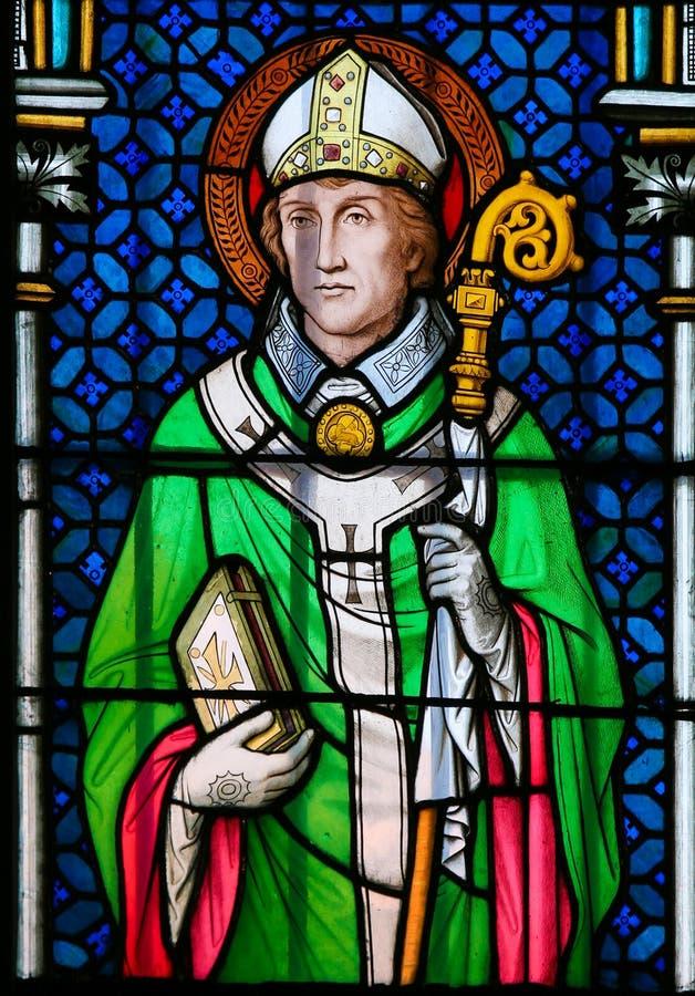 Heilige Wolfgang van Regensburg royalty-vrije stock afbeelding