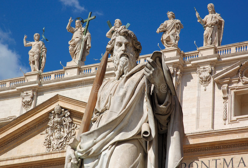 Heiligen royalty-vrije stock afbeelding