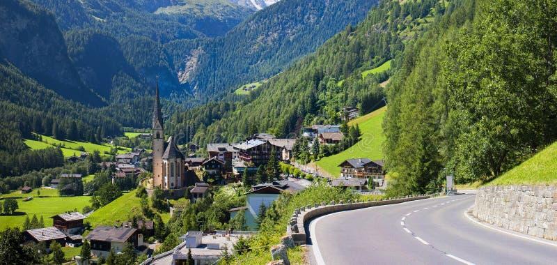 Heiligenblut kościół w Austria zdjęcia royalty free