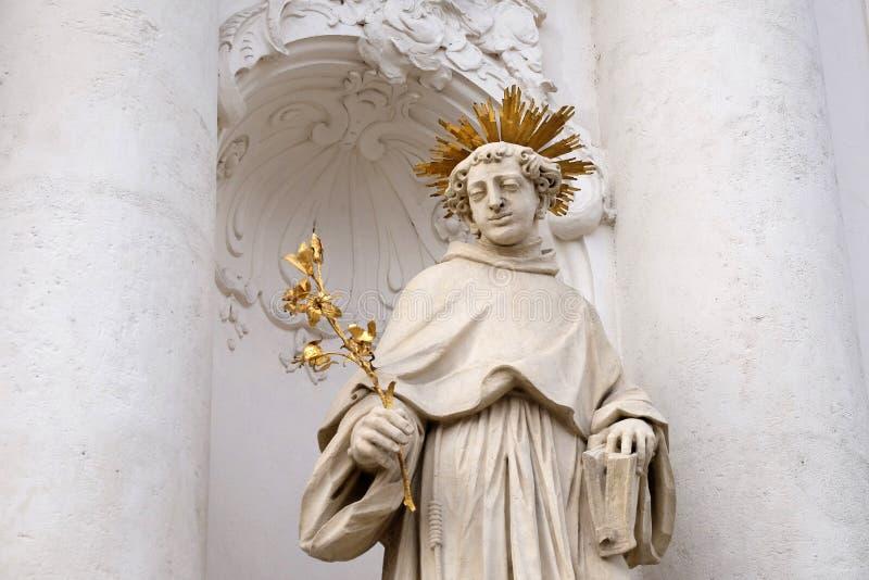 Heiliger Anthony von Padua stockbilder