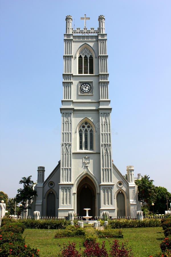 Heiliger Emmanuel Church, Moratuwa lizenzfreies stockbild