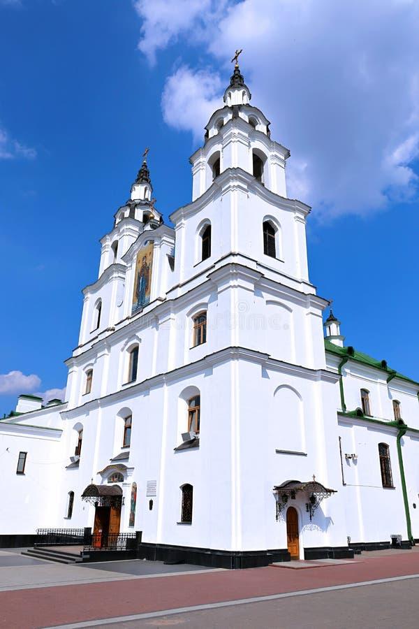 Heiliger Geist Kathedrale in Minsk lizenzfreies stockbild