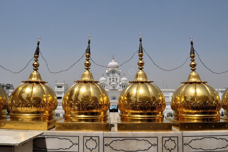Heiliger goldener Sikhtempel in Amritsar, Punjab, Indien lizenzfreie stockfotografie
