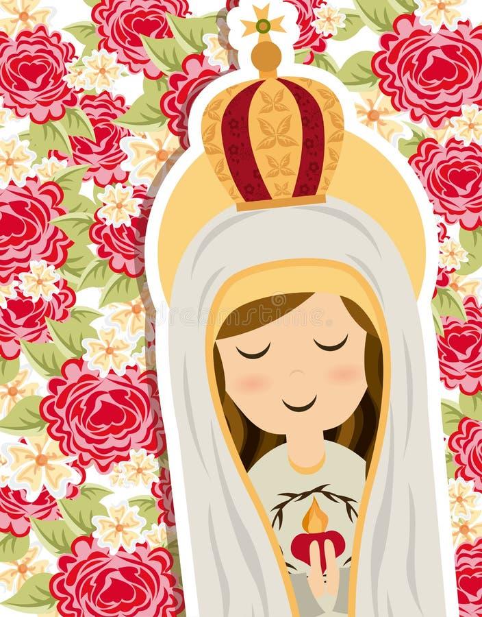 Heiliger Mary stock abbildung