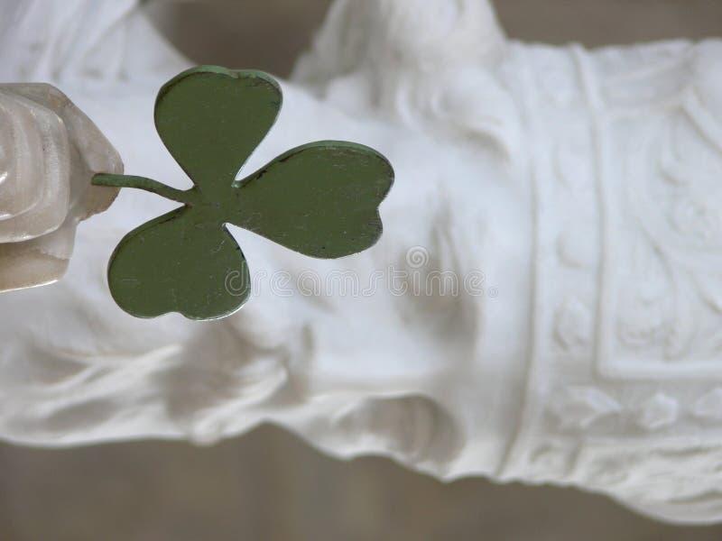 Heiliger Patrick-Statue lizenzfreie stockbilder