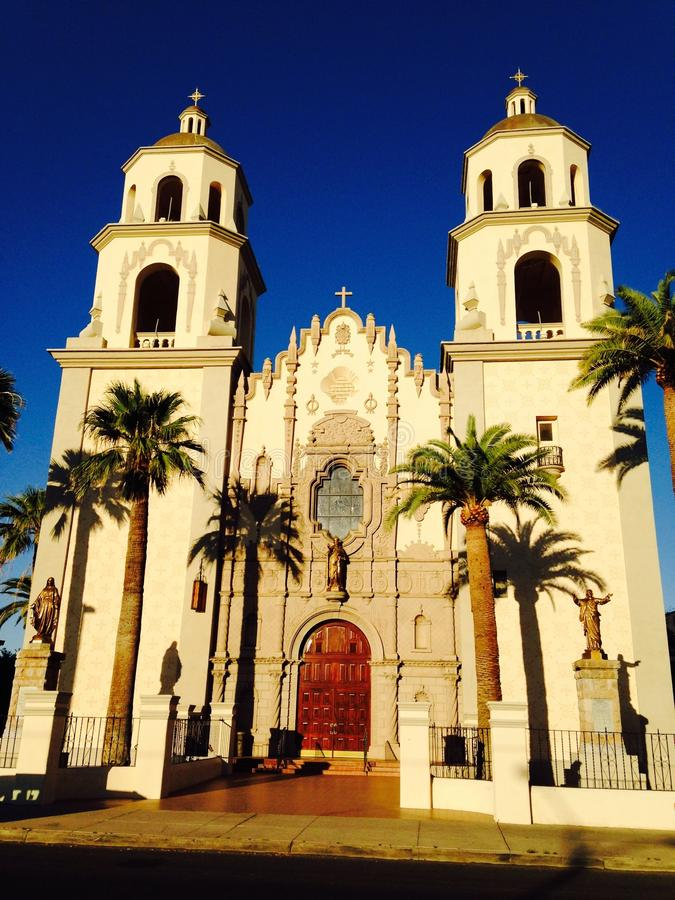 Heiliges Augustine Cathedral, Tucson, Arizona stockfoto