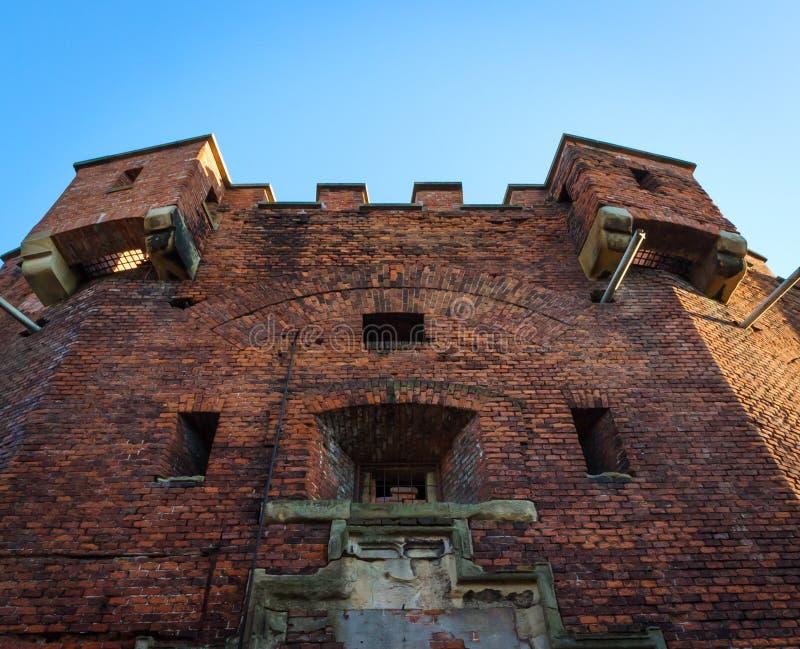 Heiliges Benedict Fort in Krakau stockbild