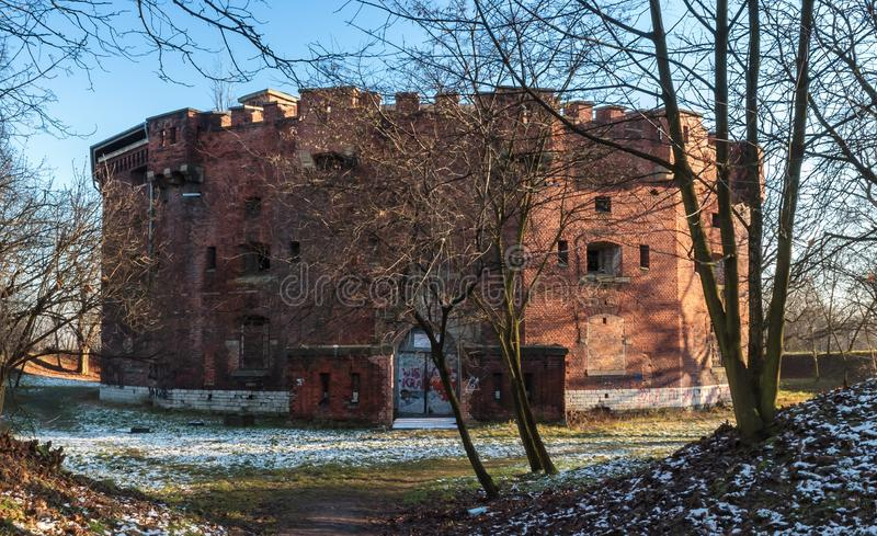 Heiliges Benedict Fort in Krakau lizenzfreie stockbilder