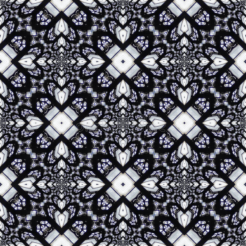 Heiliges Buntglaskaleidoskop #1 stock abbildung