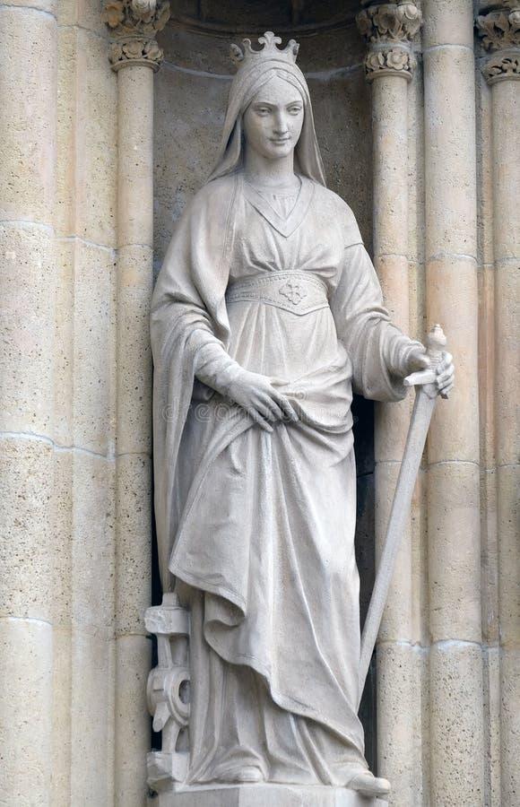Heiliges Catherine von Alexandria lizenzfreies stockbild