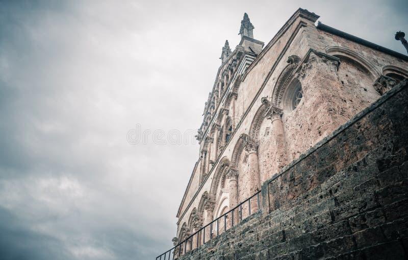 Heiliges Cerbone-Kathedrale in Massa Marittima lizenzfreie stockbilder