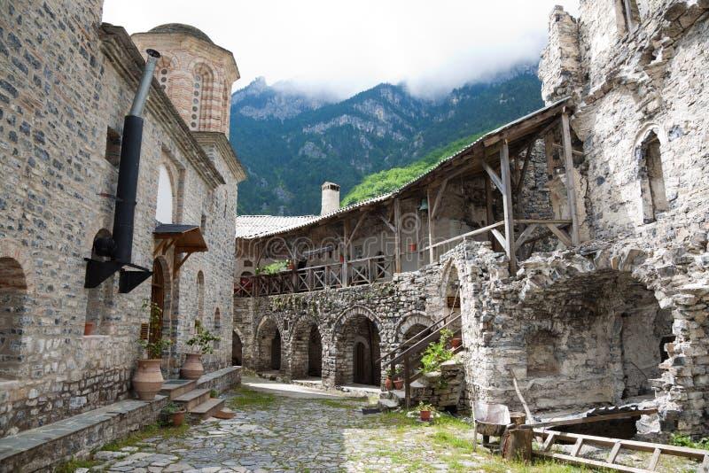 Heiliges Dionysios Kloster lizenzfreies stockbild