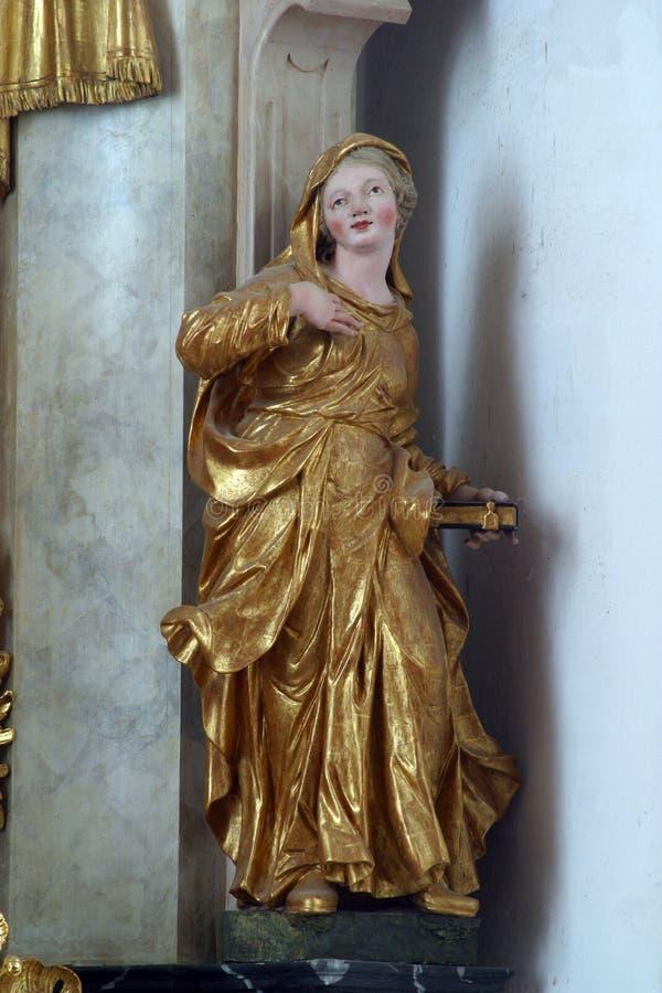 Heiliges Elizabeth Bust stockbilder