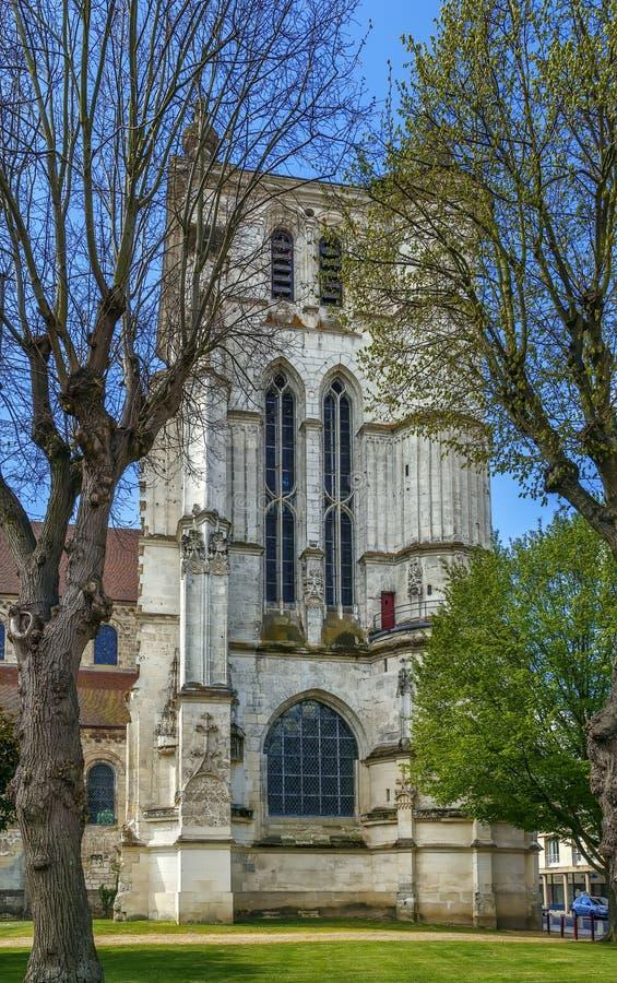 Heiliges Etienne Church, Beauvais, Frankreich stockbild